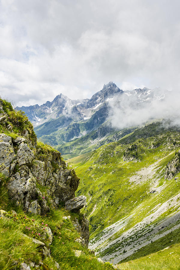 Le Grand Pic De Belledonne Photograph