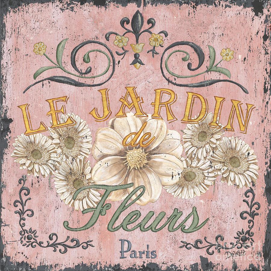 Le Jardin 1 Painting