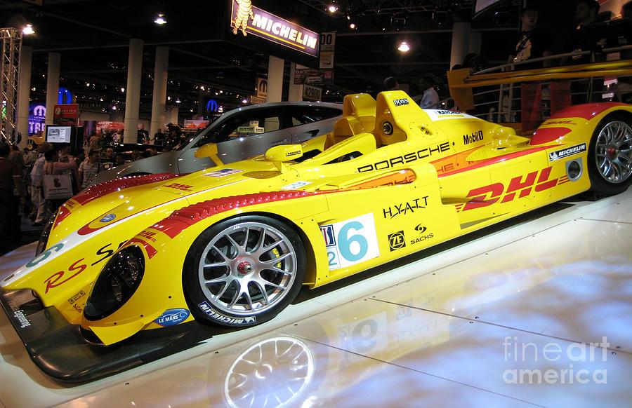 Le Mans Porsche Photograph