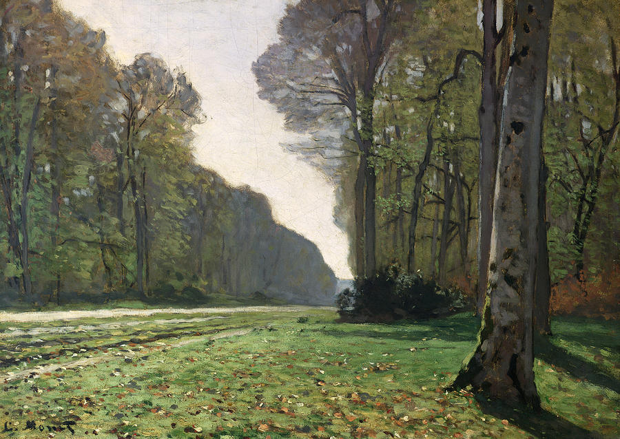 Le Pave De Chailly Painting