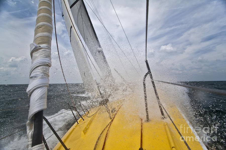 Le Pingouin Charging Upwind Photograph