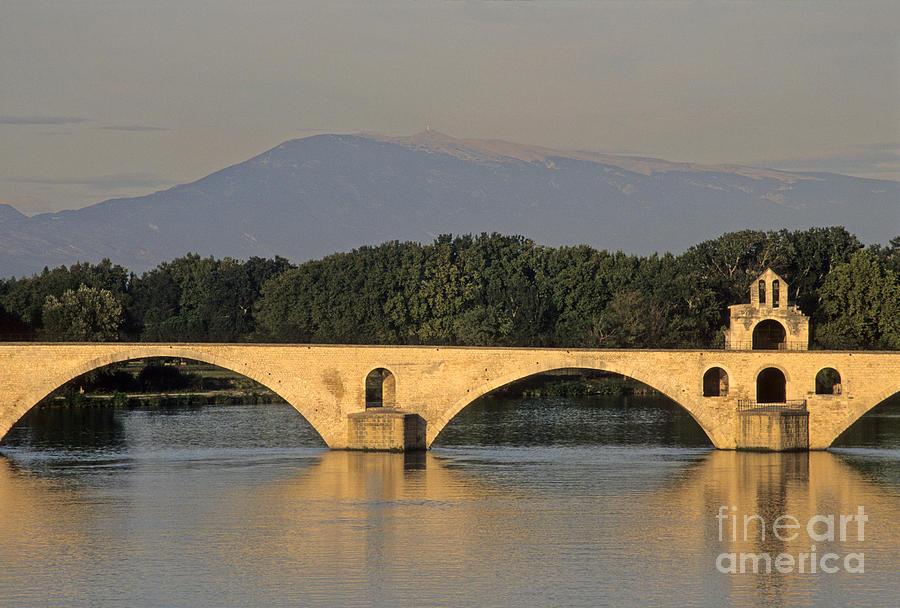 Le Pont Benezet.avignon. Provence. Photograph