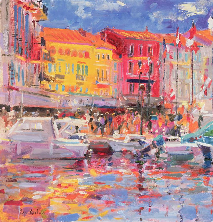 Le Port De St Tropez Painting