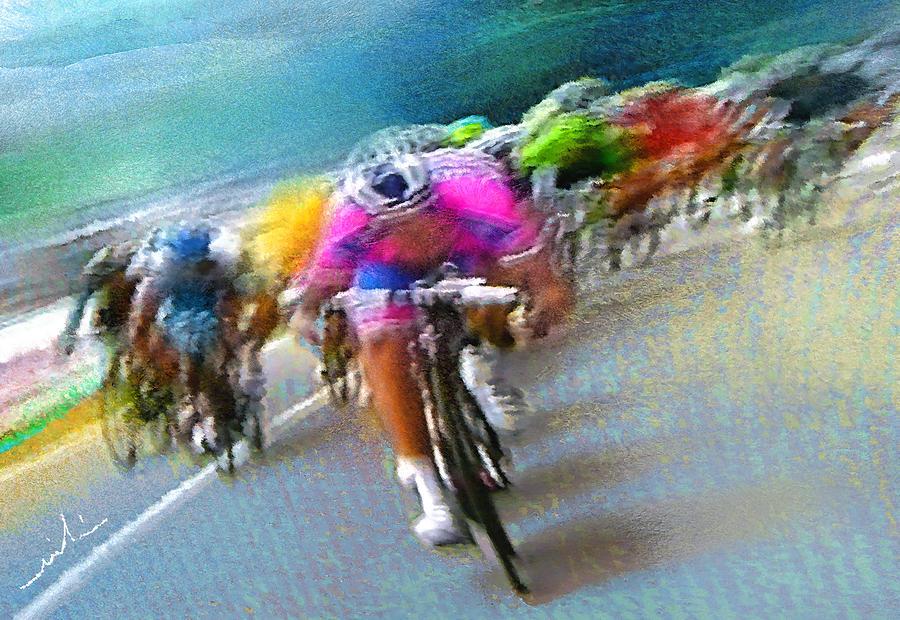 Le Tour De France 09 Painting