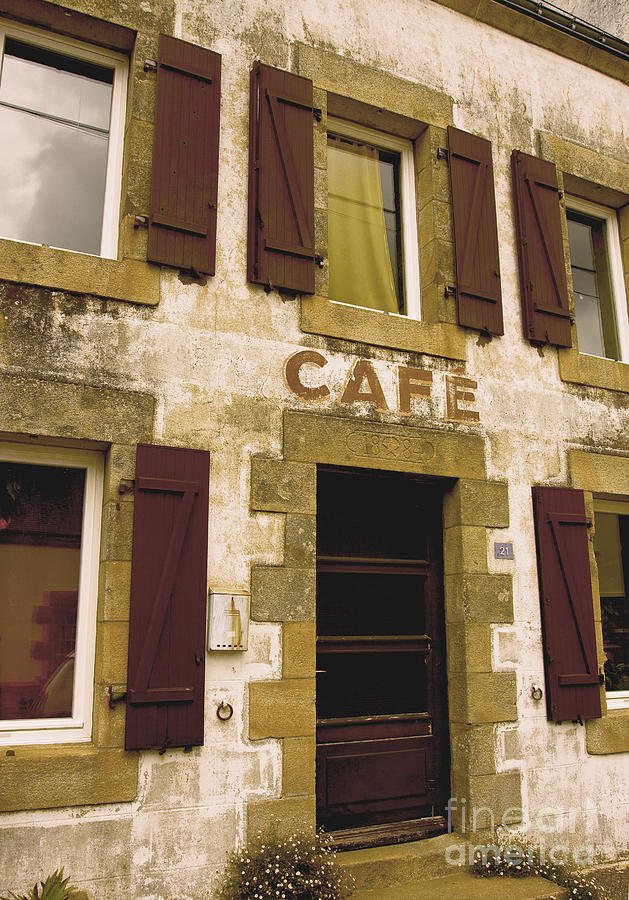 Le Vieux Cafe    The Old Cafe Bar Photograph  - Le Vieux Cafe    The Old Cafe Bar Fine Art Print