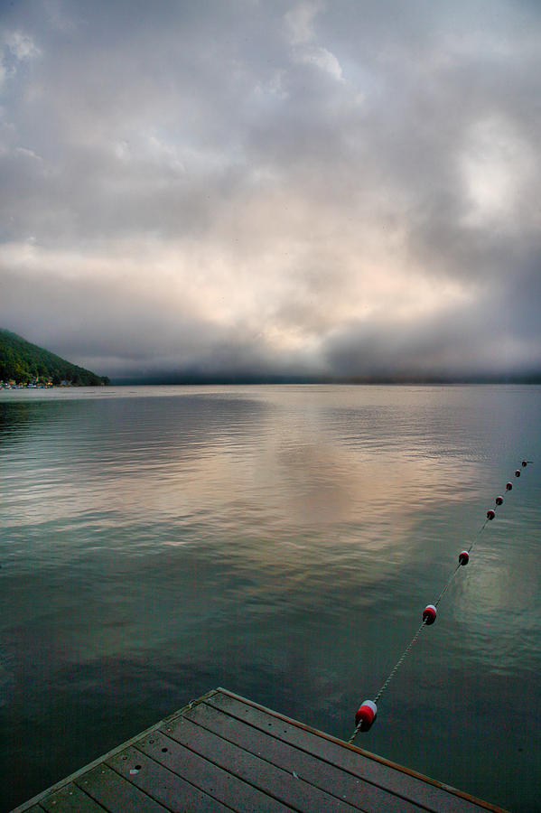 Lake Photograph - Leading Edge I by Steven Ainsworth