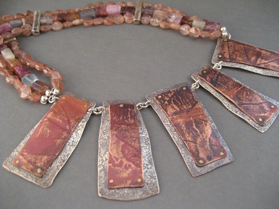 Leaf Impressions Necklace Jewelry