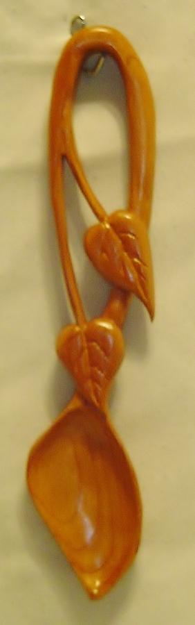 Leaf Love Spoon Sculpture