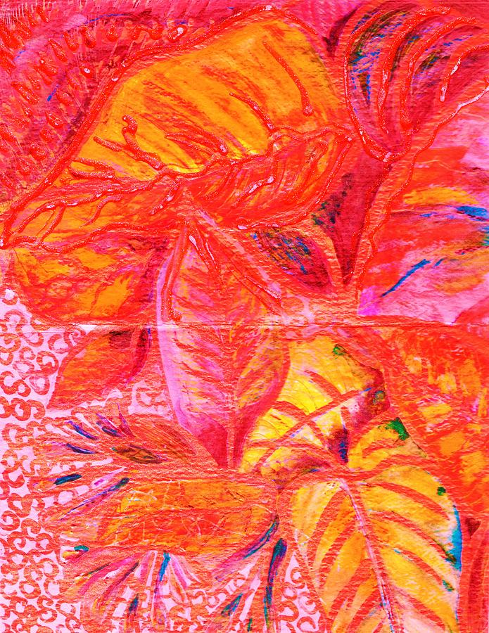 Leaves Painting - Leaves For Leslie by Anne-Elizabeth Whiteway