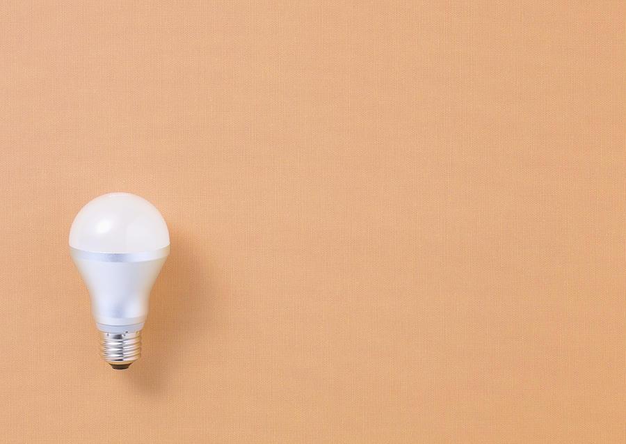 Horizontal Photograph - Led Bulb by sozaijiten/Datacraft