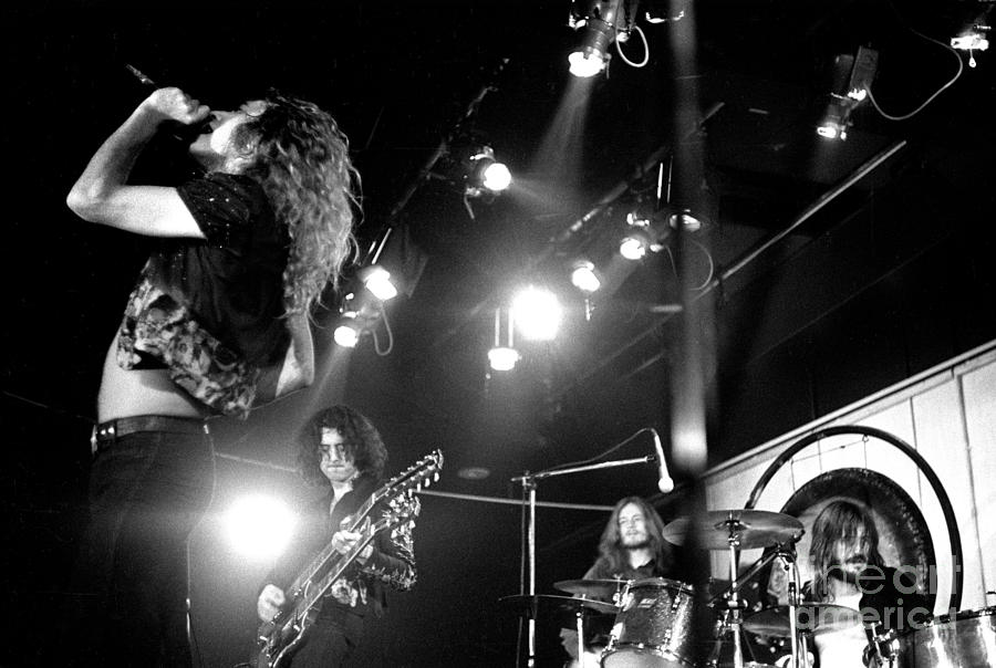 Led Zeppelin 1972 Photograph  - Led Zeppelin 1972 Fine Art Print