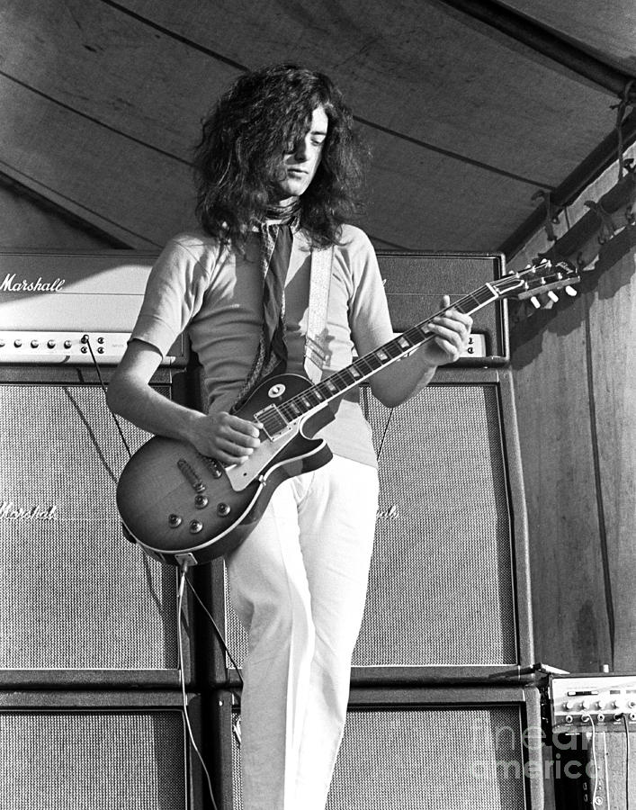 Led Zeppelin Jimmy Page 69 Photograph  - Led Zeppelin Jimmy Page 69 Fine Art Print