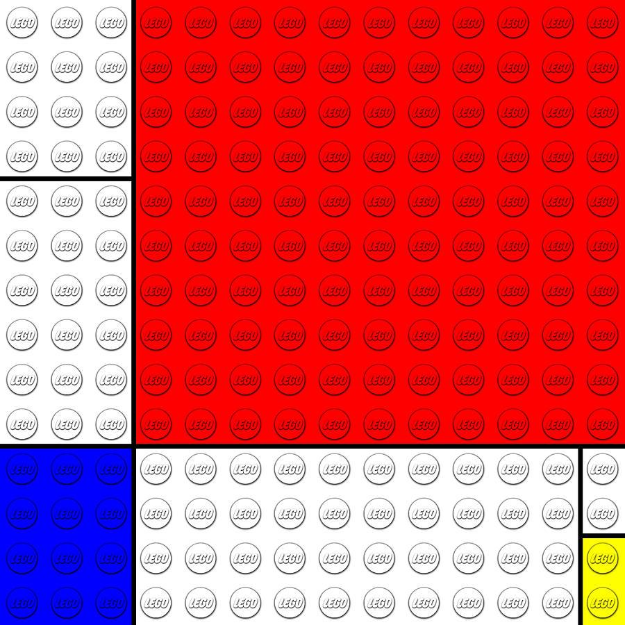 Lego V. Piet Mondrian Painting