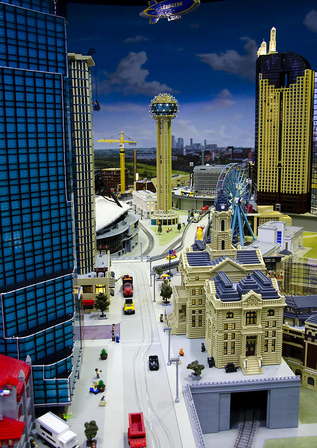 Legoland Dallas Iv Photograph  - Legoland Dallas Iv Fine Art Print