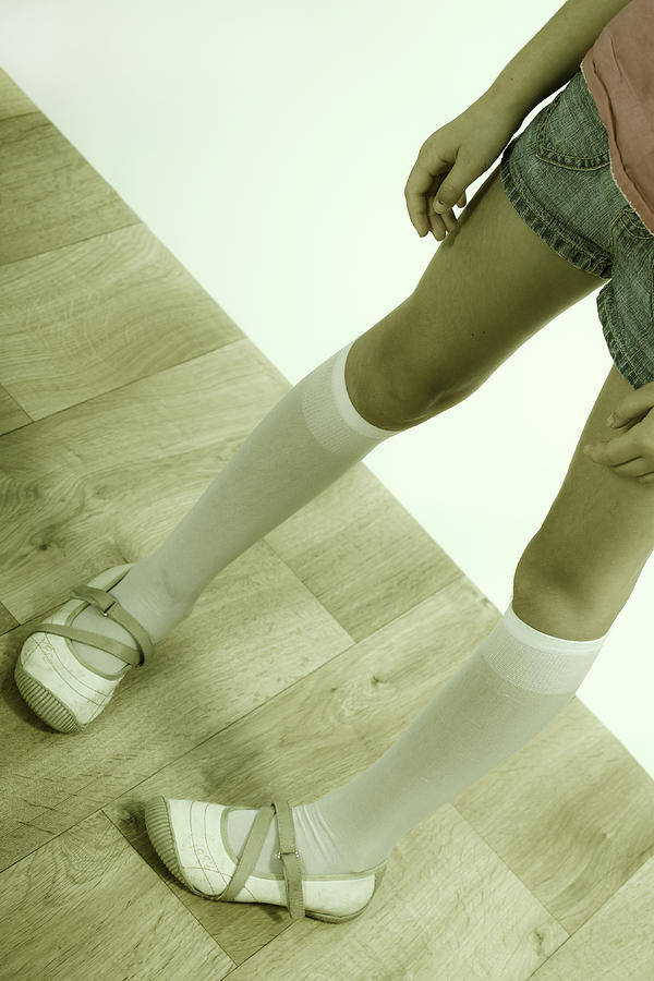Legs Of A Girl Photograph