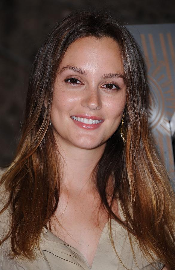 Leighton Meester At A Public Appearance Photograph  - Leighton Meester At A Public Appearance Fine Art Print