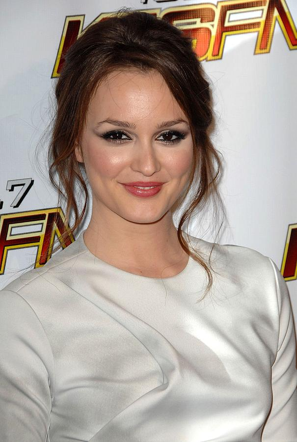 Leighton Meester In Attendance For Kiis Photograph  - Leighton Meester In Attendance For Kiis Fine Art Print