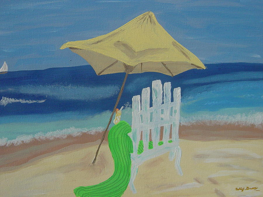 Lemonade On The Beach Painting