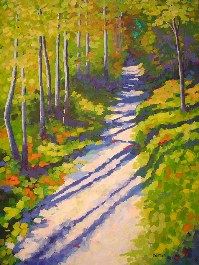 Lena Lake Trail IIi Painting