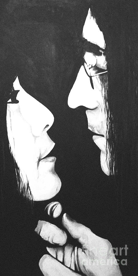 Lennon And Yoko Painting  - Lennon And Yoko Fine Art Print
