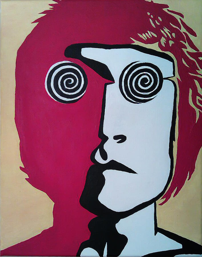 John Painting - Lennon by Kenny Cannon