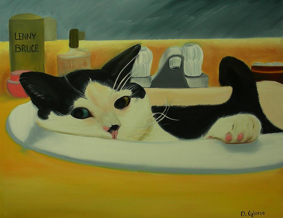 Lenny Bruce Painting
