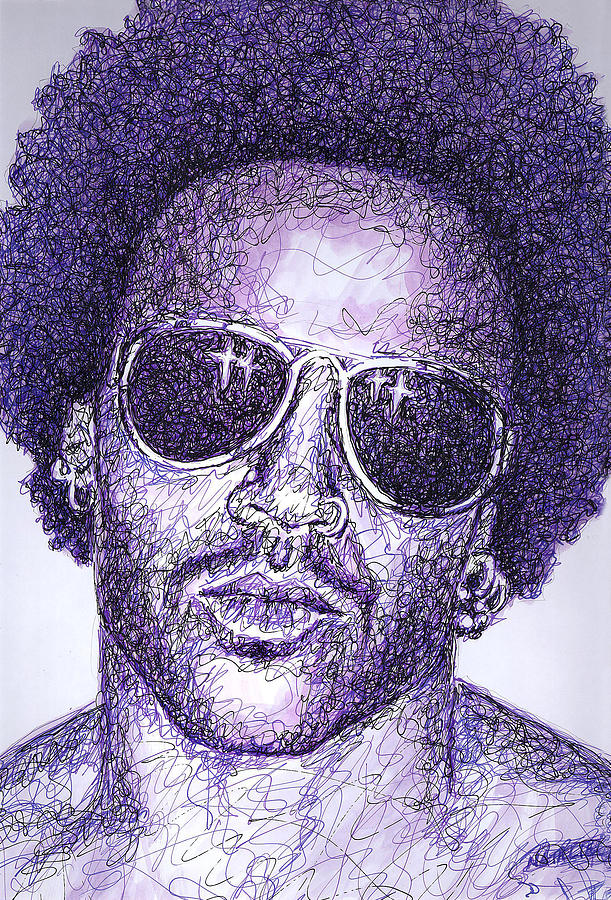 Lenny Kravitz Drawing