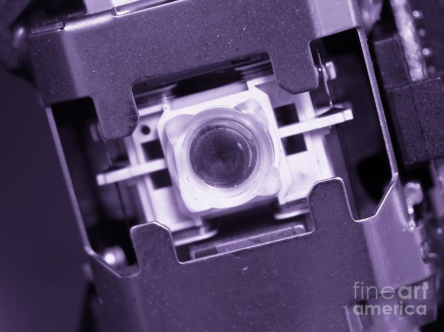 Lens Of A Cd Player Photograph
