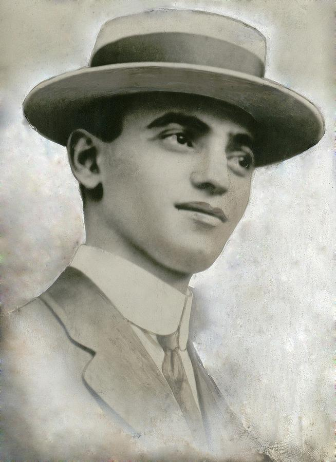 Leo Frank 1884-1915, Was Tried Photograph