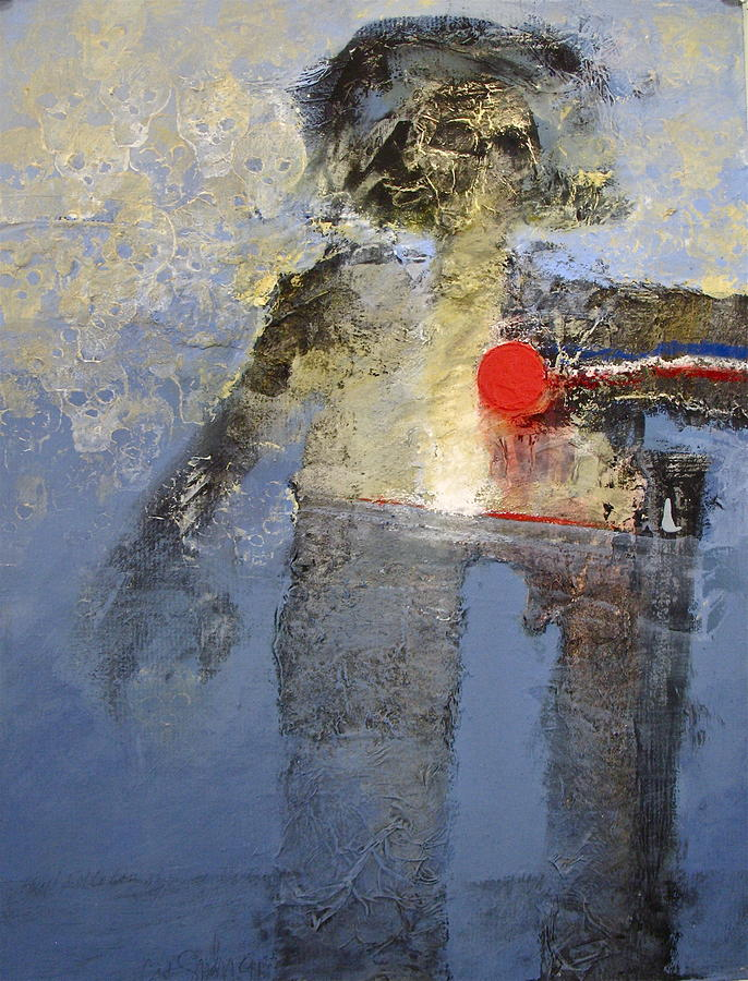 Abstract Painting Painting - Leon Neepo by Cliff Spohn
