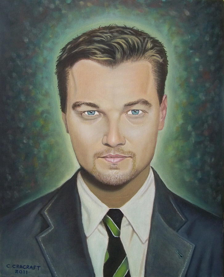 Leonardo Dicaprio By Crilll Cracraft
