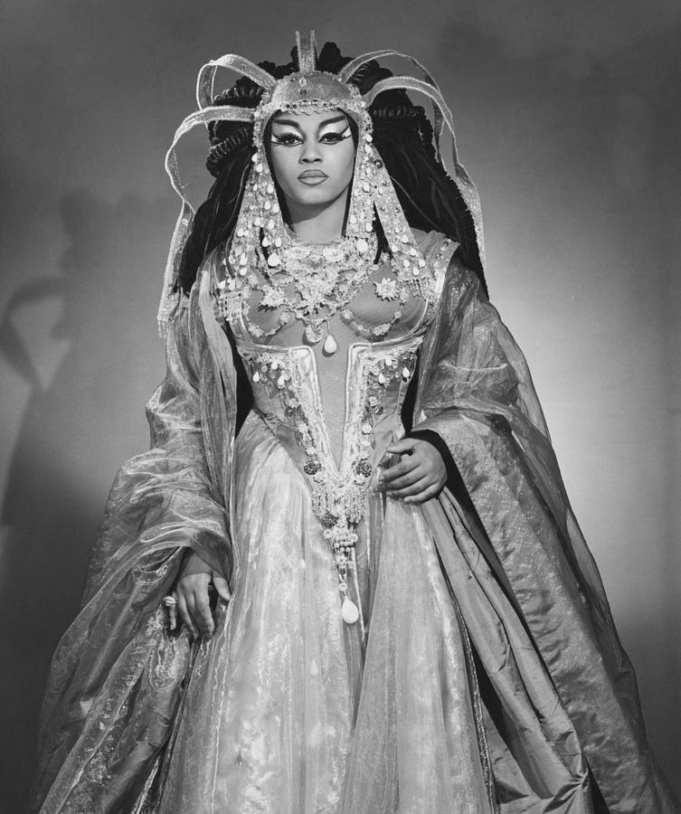 Leontyne Price B. 1927, As Cleopatra Photograph