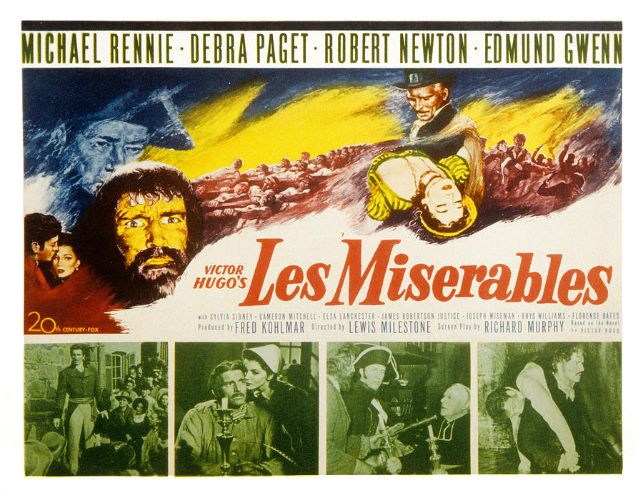 Les Miserables, Michael Rennie, Debra Photograph  - Les Miserables, Michael Rennie, Debra Fine Art Print