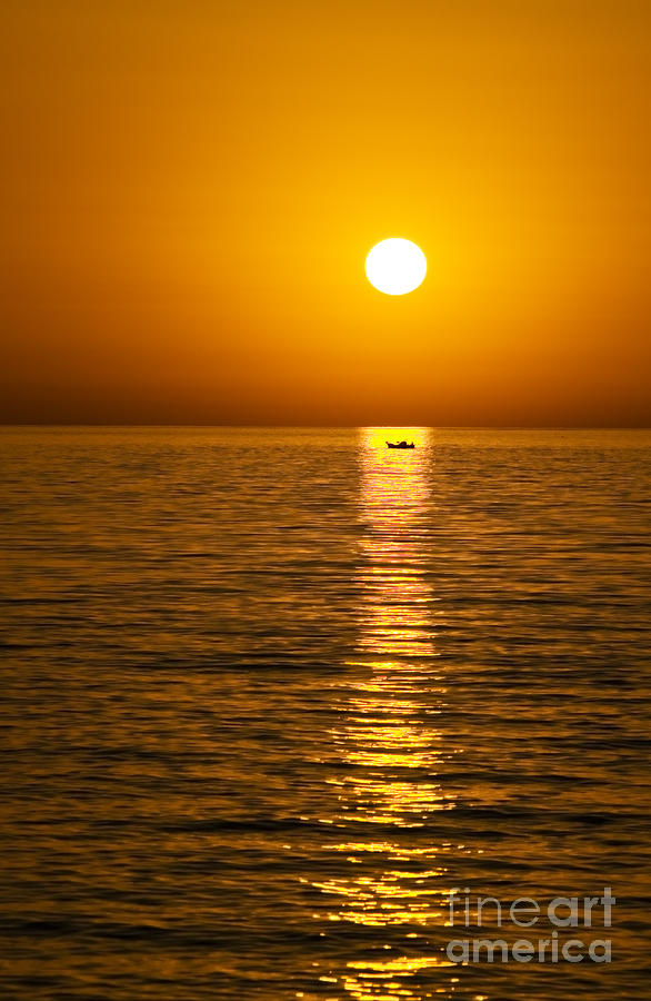 Lesvos Sunset Photograph  - Lesvos Sunset Fine Art Print