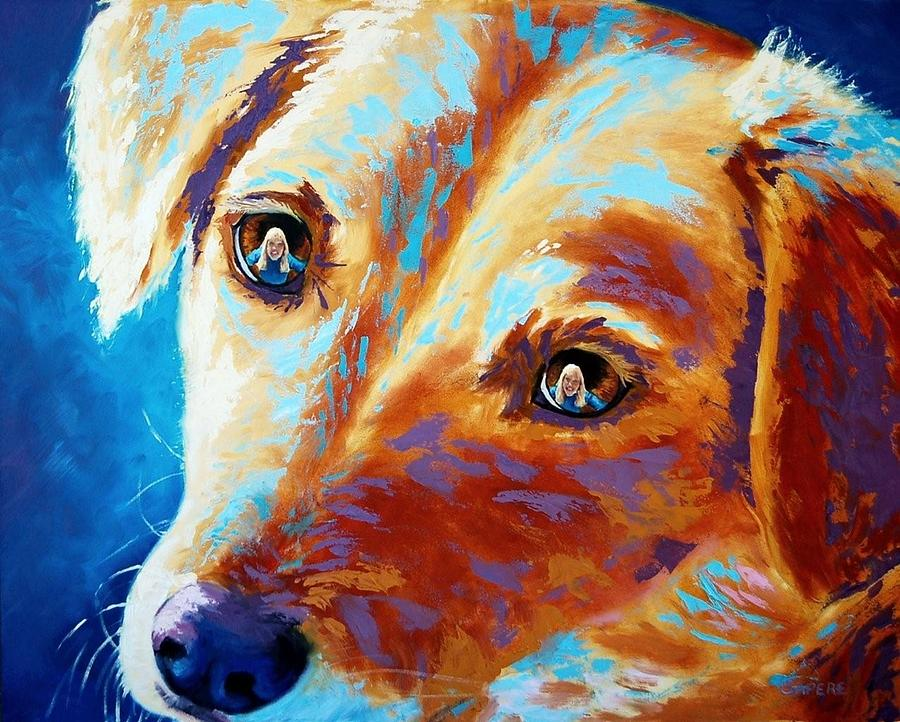 Let Me Be The Person My Dog Thinks I Am Painting