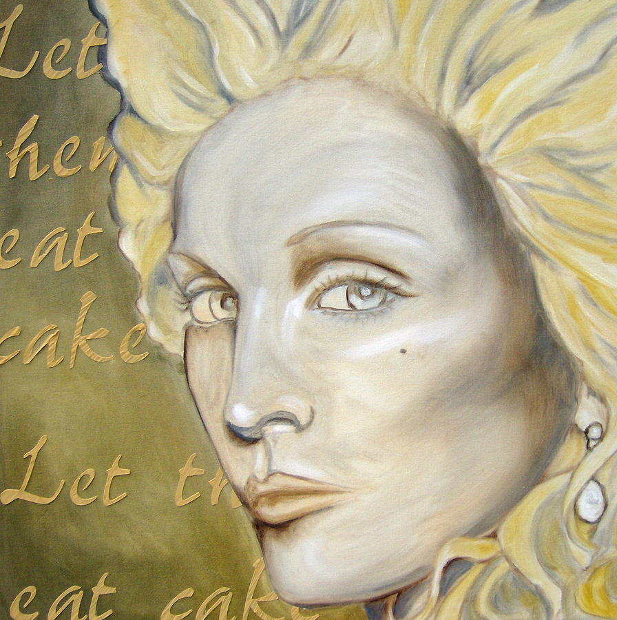 Let Them Eat Cake Painting  - Let Them Eat Cake Fine Art Print