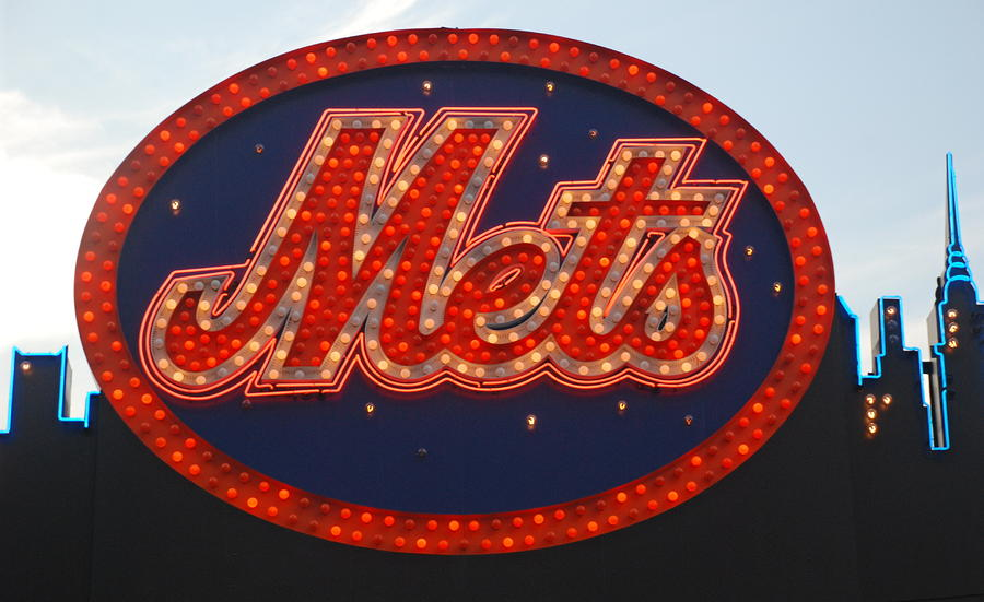 Lets Go Mets Photograph