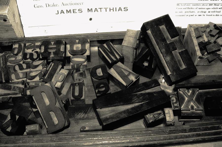 Letters Photograph