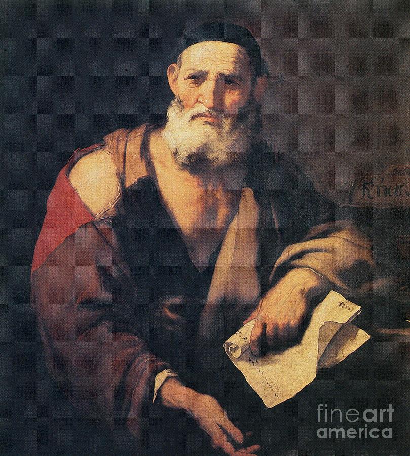 Science Photograph - Leucippus, Ancient Greek Philosopher by Science Source