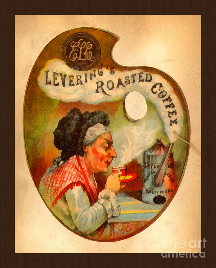 Leverings Roasted Coffee Painting