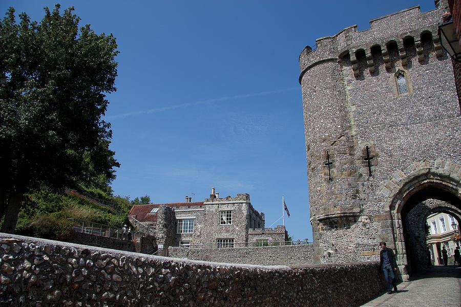 Lewes Castle Photograph