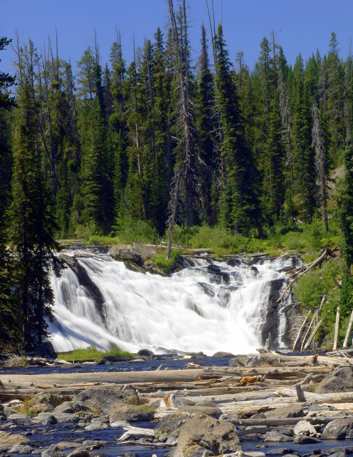 Lewis Falls Photograph  - Lewis Falls Fine Art Print