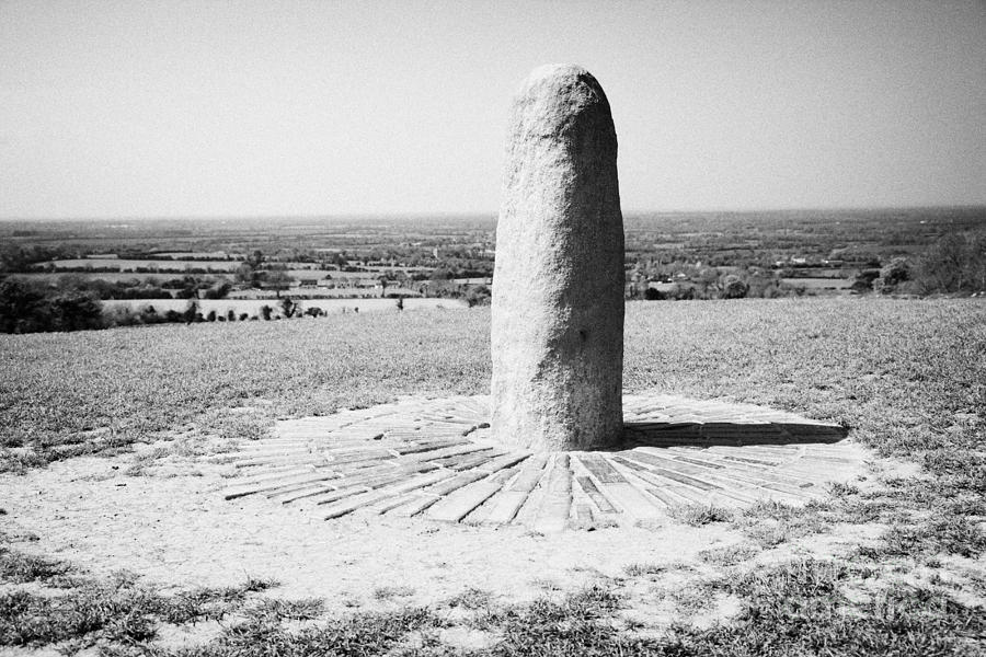 Lia Fail Stone Of Destiny Hill Of Tara Ireland Photograph