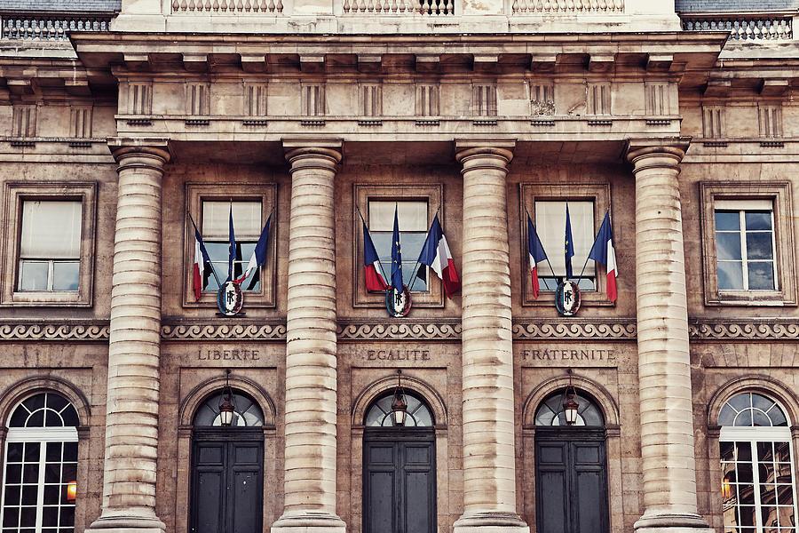 Liberte Egalite Fraternite Photograph
