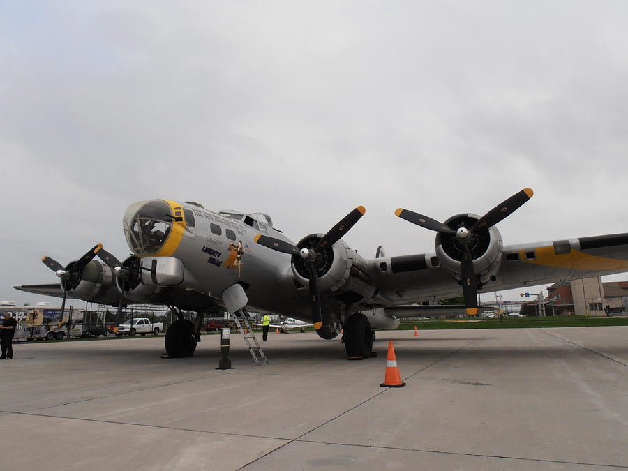 Liberty Belle B17 Photograph  - Liberty Belle B17 Fine Art Print