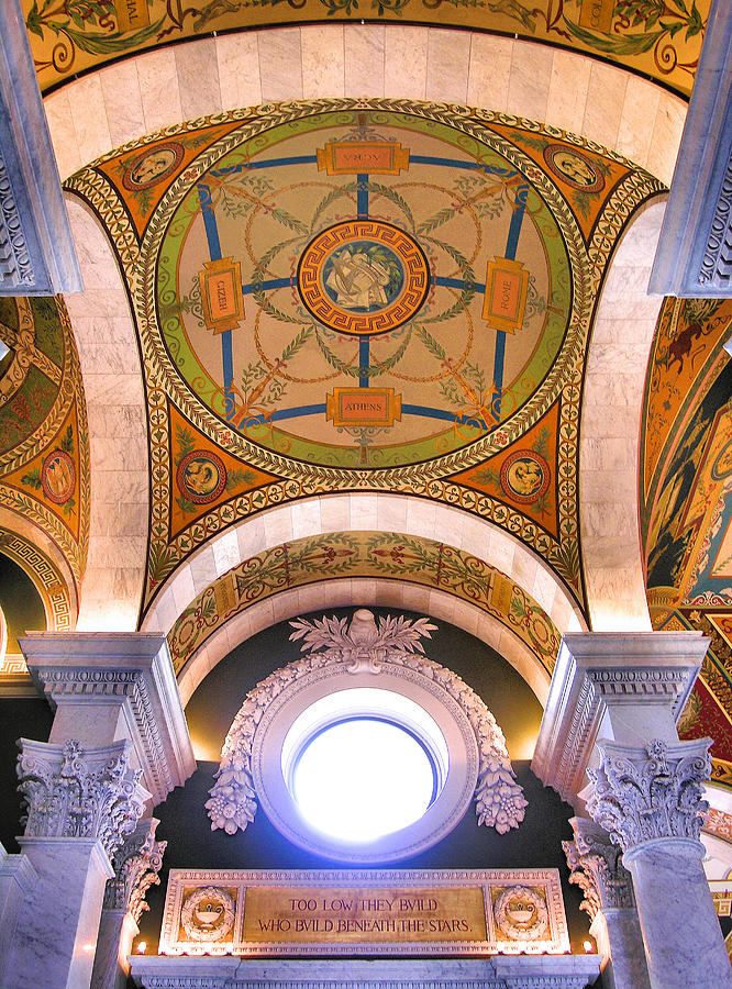 Library Of Congress I Photograph  - Library Of Congress I Fine Art Print