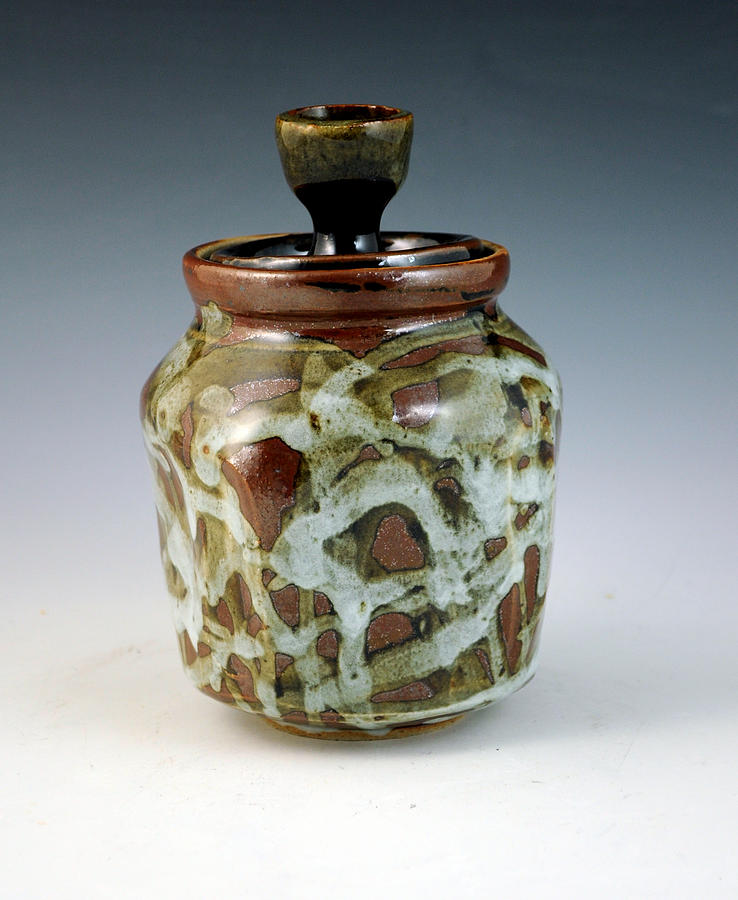 Lidded Figure Number 18 Ceramic Art