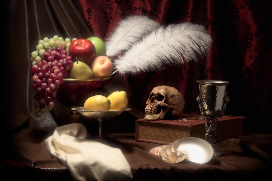 Life And Death In Still Life Photograph  - Life And Death In Still Life Fine Art Print