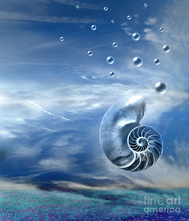 Life Digital Art  - Life Fine Art Print