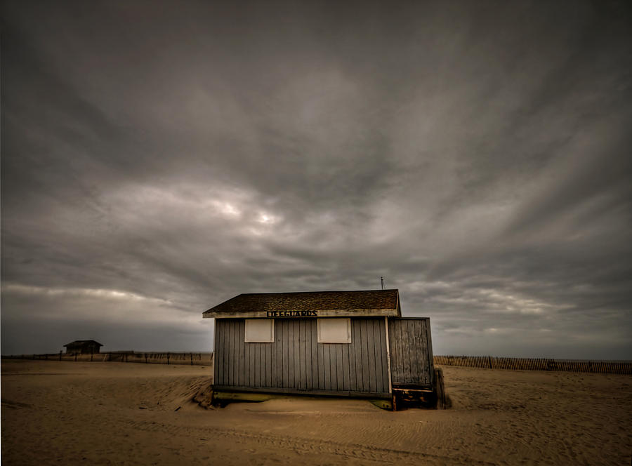 Lifeguard Shack Photograph